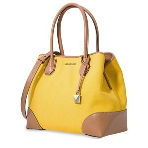 Michael Kors Mercer Gallery Medium Satchel Jasmine